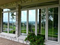 PVC Casement windows with transoms