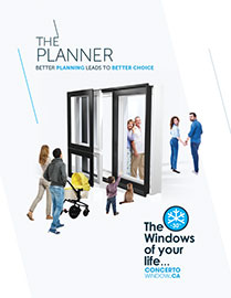 The planner Concerto Windows